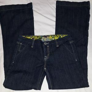 Miss Me Eden Flare Trouser Jeans Geneva Color 30